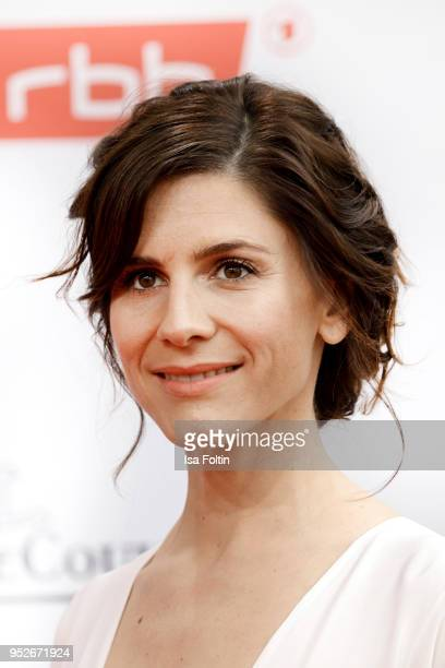 German actress Christina Hecke attends the Lola - German Film Award red carpet at Messe Berlin on April 27, 2018 in Berlin, Germany.