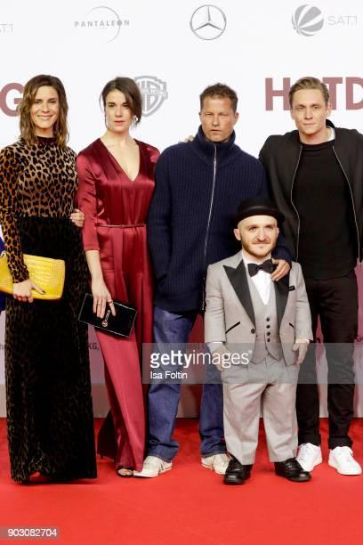 German actress Christina Hecke German actress Anne Schaefer German actor and producer Til Schweiger actor Leigh Gill and German actor and producer...