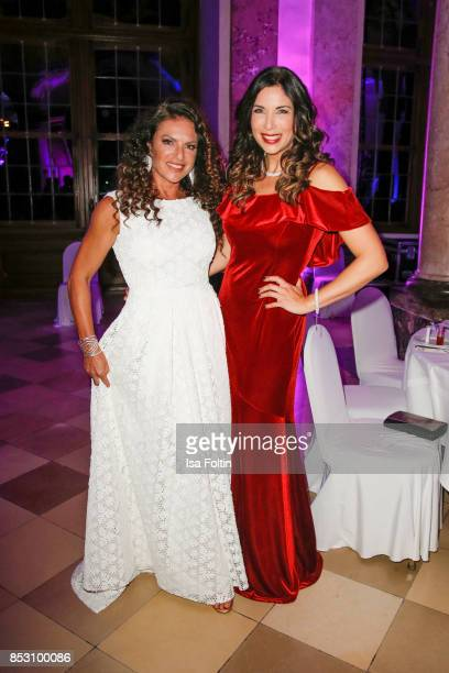 German actress Christine Neubauer and German presenter Alexandra Polzin during the Minx Fashion Night in favour of 'Sauti Kuu' of Auma Obama at...