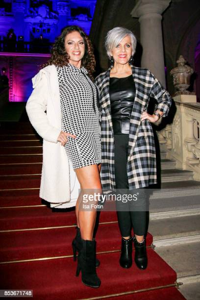 German actress Christine Neubauer and German presenter Birgit Schrowange during the Minx Fashion Night in favour of 'Sauti Kuu' of Auma Obama at...