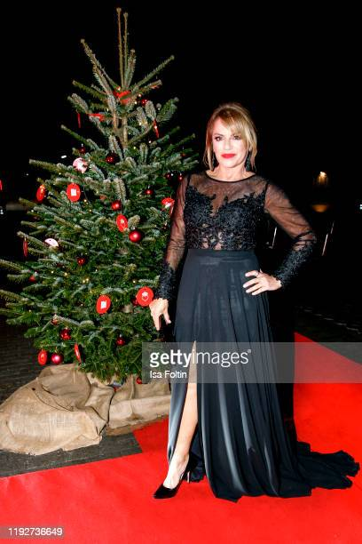 German actress Christine Neubauer during the Daimlers BE A MOVER event at Ein Herz Fuer Kinder Gala at Studio Berlin Adlershof on December 7 2019 in...