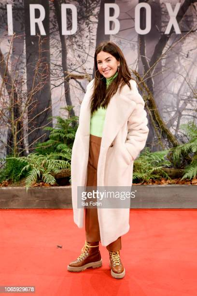 German actress Chryssanthi Kavazi attends the European premiere of the film 'Bird Box' at Zoo Palast on November 27 2018 in Berlin Germany