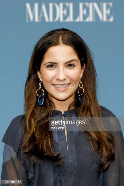 German actress Chryssanthi Kavazi during the Tribute To Bambi at Kraftwerk Mitte on October 18 2018 in Berlin Germany