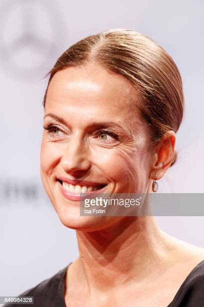 German actress Claudia Michelsen attends the First Steps Awards 2017 at Stage Theater on September 18 2017 in Berlin Germany