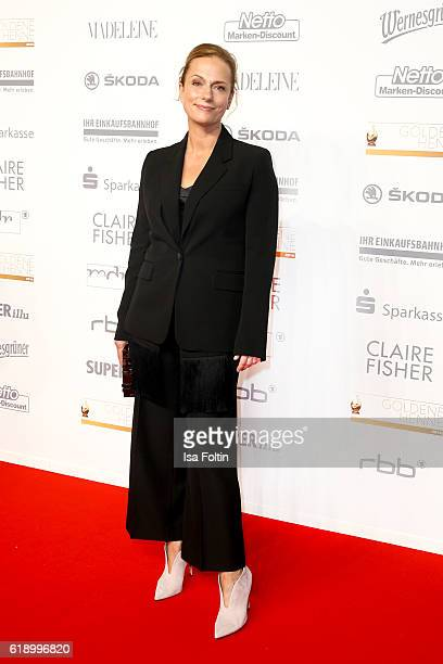 German actress Claudia Michelsen attends the Goldene Henne on October 28 2016 in Leipzig Germany