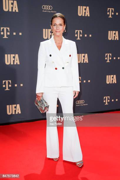 German actress Claudia Michelsen attends the UFA 100th anniversary celebration at Palais am Funkturm on September 15 2017 in Berlin Germany