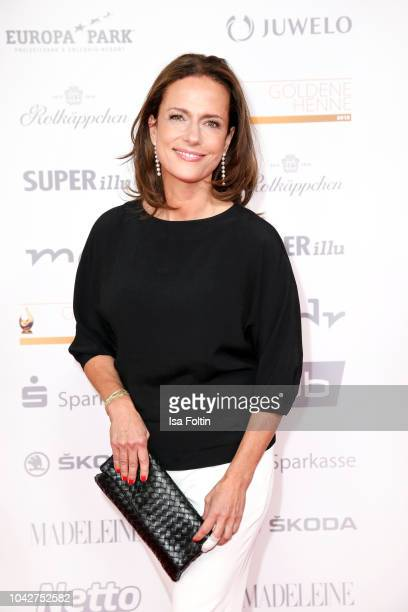 German actress Claudia Michelsen during the Goldene Henne on September 28 2018 in Leipzig Germany