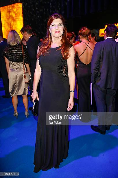 German actress Claudia Wenzel during the aftershow party at the Goldene Henne on October 28 2016 in Leipzig Germany