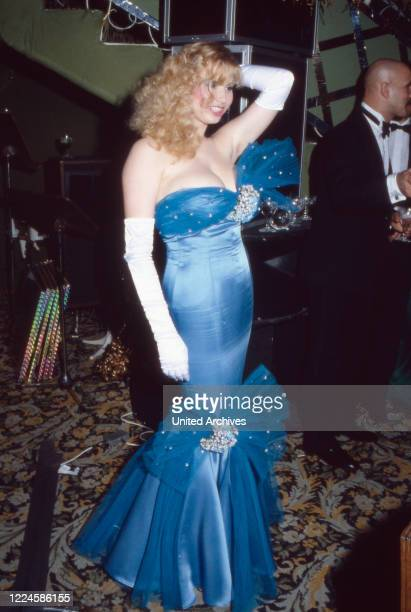 German actress Cleo Kretschmer Germany 1980s