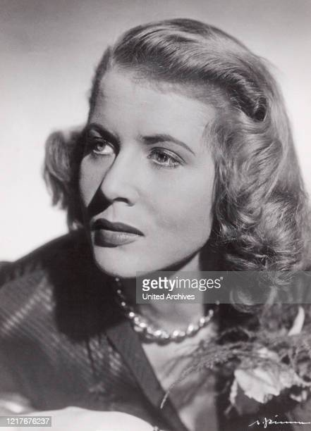 German actress Cornell Borchers, also successful in the UK and Hollywood, Germany around 1956.