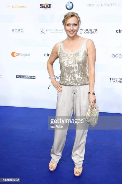 German actress Dana Golombek attends the summer party 2017 of the German Producers Alliance on July 12 2017 in Berlin Germany