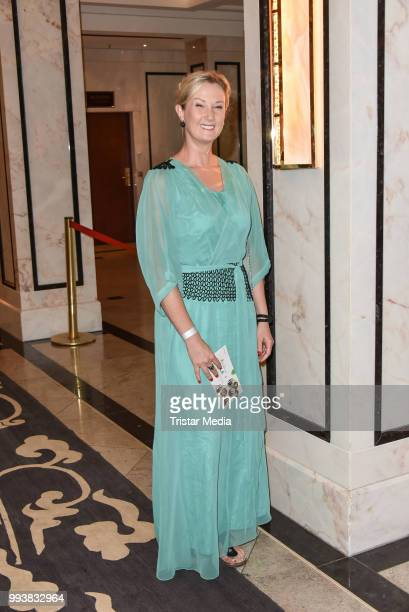 German actress Daniela Schwerdt during the Aline Reimer Foundation Gala on July 7 2018 in Berlin Germany