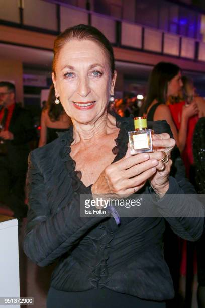 German actress Daniela Ziegler during the after show party of Duftstars at Flughafen Tempelhof on April 25 2018 in Berlin Germany