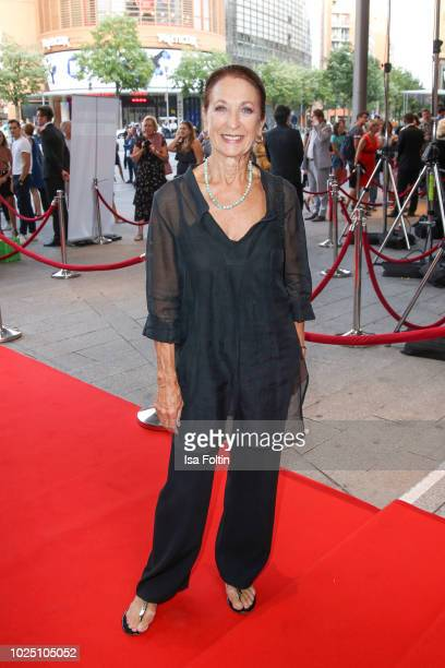 German actress Daniela Ziegler during the musical premiere of 'BEAT IT Die Show ueber den King of Pop' at Stage Theater am Potsdamer Platz on August...