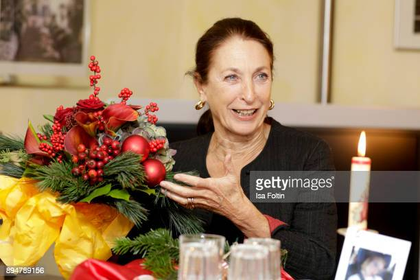 German actress Daniela Ziegler during the Vita Christmas Party on December 17, 2017 in UNSPECIFIED, Germany.