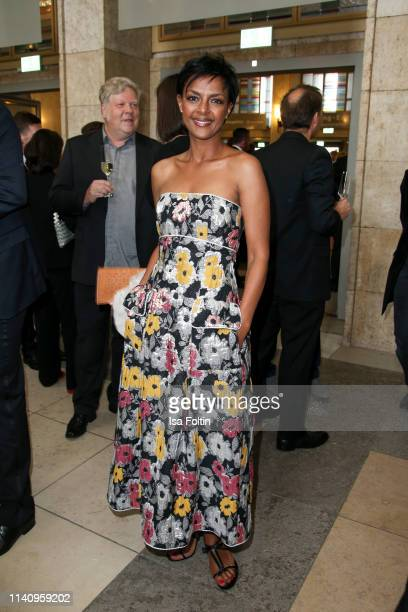 German actress Dennenesch Zoude attends the Lola German Film Award reception at Palais am Funkturm on May 3 2019 in Berlin Germany