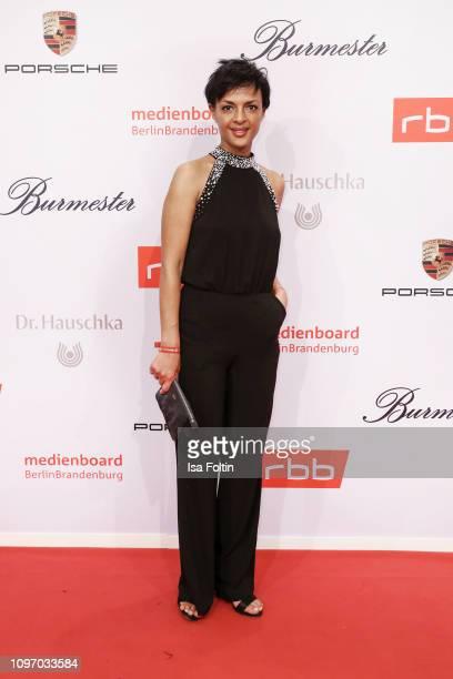 German actress Dennenesch Zoude attends the Medienboard BerlinBrandenburg Reception on the occasion of the 69th Berlinale International Film Festival...