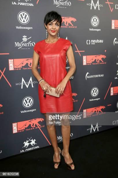 German actress Dennenesch Zoude attends the New Faces Award Film at Spindler Klatt on April 26 2018 in Berlin Germany