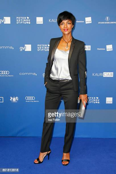 German actress Dennenesch Zoude during the 6th German Actor Award Ceremony at Zoo Palast on September 22 2017 in Berlin Germany