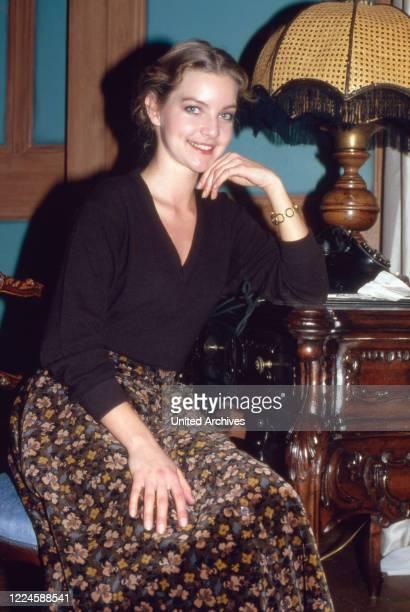 German actress Dietlinde Turban, Germany, 1970s.