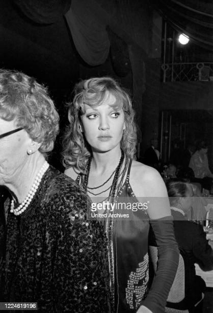 German actress Doris Kunstmann at the Deutscher Filmball 1974 at Munich Germany 1970s