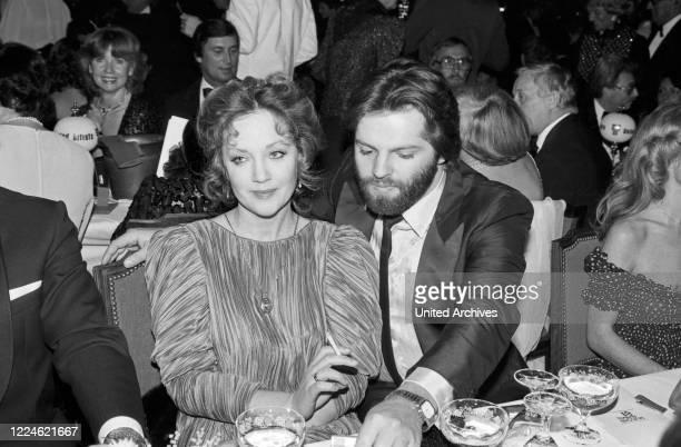 German actress Doris Kunstmann at the Deutscher Filmball on January 11th 1981 at Munich Germany 1980s