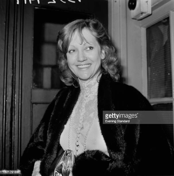 German actress Doris Kunstmann, UK, 15th May 1973.