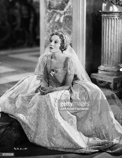 German actress Elisabeth Bergner stars as the Russian Empress in 'Catherine the Great' directed by Paul Czinner