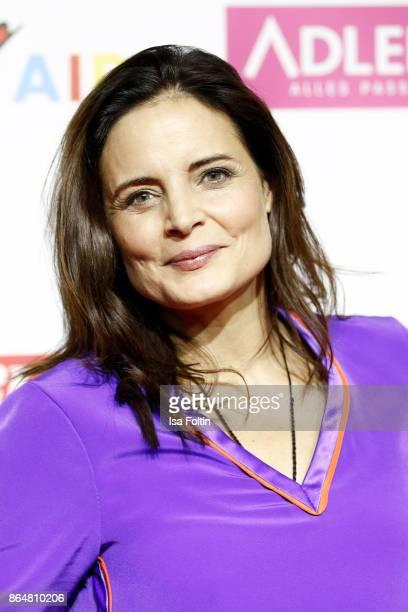 German actress Elisabeth Lanz attends the 'Goldene Bild der Frau' award at Hamburg Cruise Center on October 21 2017 in Hamburg Germany