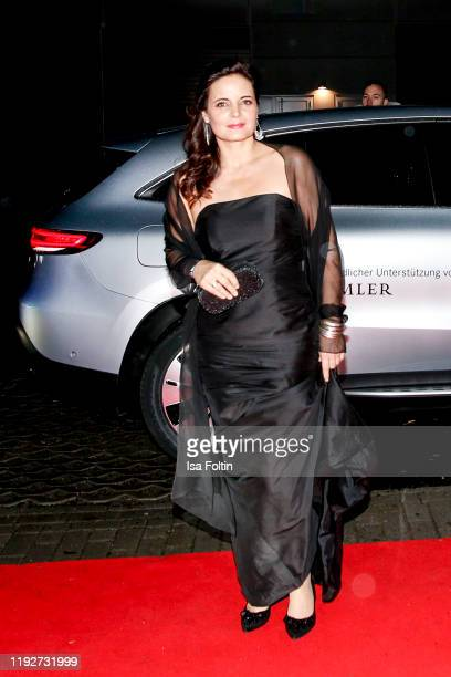 """German actress Elisabeth Lanz during the Daimlers """"BE A MOVER"""" event at Ein Herz Fuer Kinder Gala at Studio Berlin Adlershof on December 7, 2019 in..."""