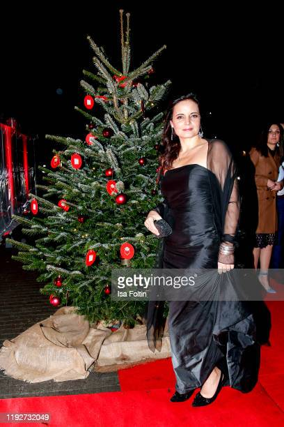 German actress Elisabeth Lanz during the Daimlers BE A MOVER event at Ein Herz Fuer Kinder Gala at Studio Berlin Adlershof on December 7 2019 in...