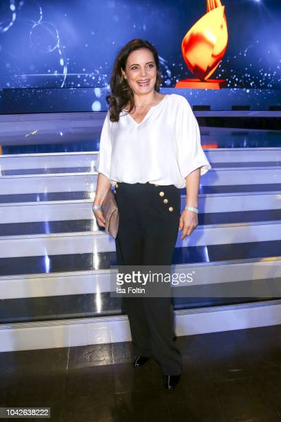 German actress Elisabeth Lanz during the Goldene Henne on September 28, 2018 in Leipzig, Germany.