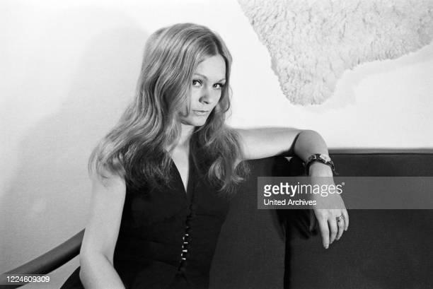 German actress Elke Hart, Germany, 1960s.
