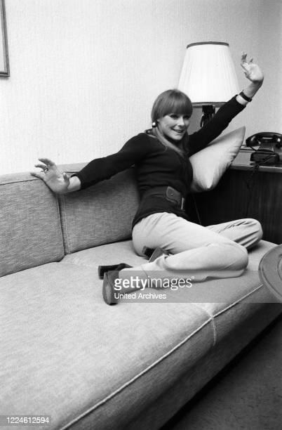 German actress Elke Sommer, Germany, 1970s.