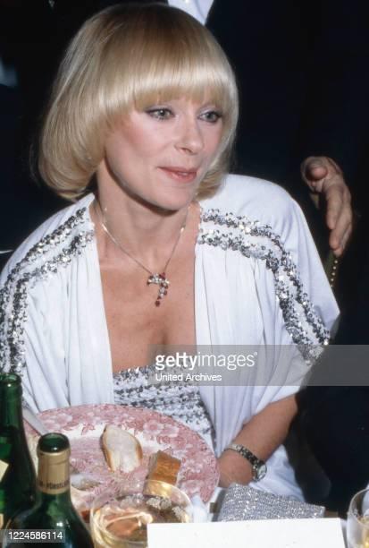German actress Elke Sommer, Germany, 1980s.