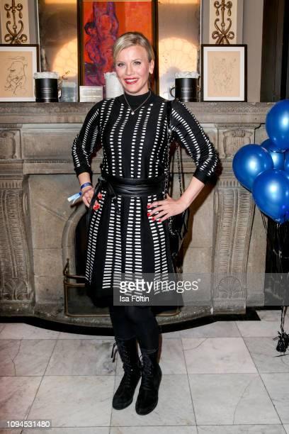 German actress Eva Habermann attends the Blaue Blume Awards at Restaurant Grosz on February 6 2019 in Berlin Germany