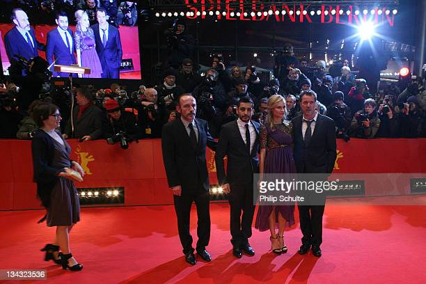 German actress Eva Loebau Austrian actor Karl Markovics director Jaume ColletSerra German actress Diane Kruger and German actor Sebastian Koch attend...