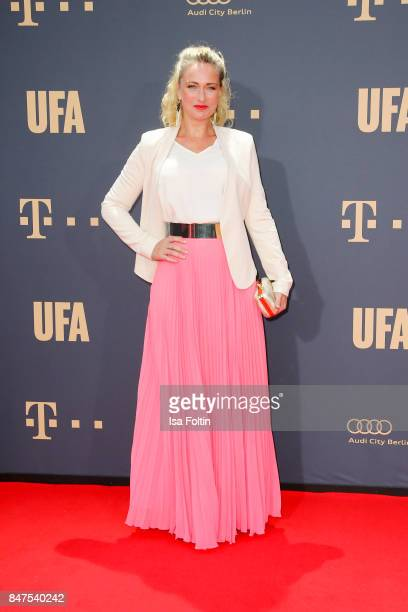 German actress Eva Mona Rodenkirchen attends the UFA 100th anniversary celebration at Palais am Funkturm on September 15 2017 in Berlin Germany