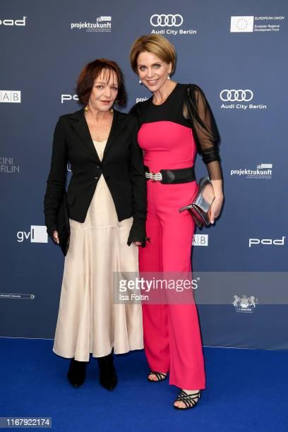 German actress Eva Weissenborn and German actress Gisa Zach at the award ceremony of the Deutscher Schauspielpreis at Zoo Palast on September 13 2019...