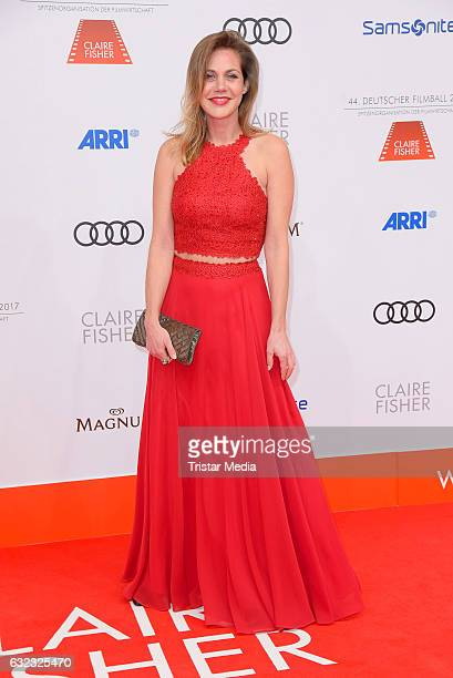 German actress Felicitas Woll attends the German Film Ball 2017 at Hotel Bayerischer Hof on January 21 2017 in Munich Germany
