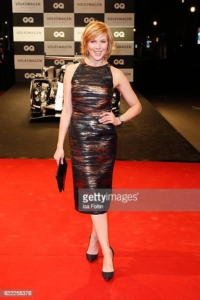 German actress Franziska Weisz attends the GQ Men of the year Award 2016 at Komische Oper on November 10 2016 in Berlin Germany