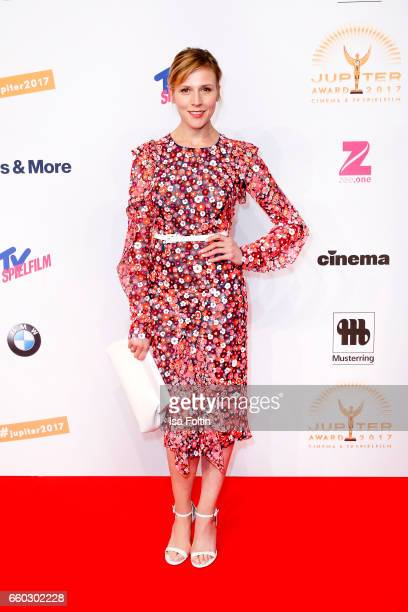 German actress Franziska Weisz attends the Jupiter Award at Cafe Moskau on March 29 2017 in Berlin Germany