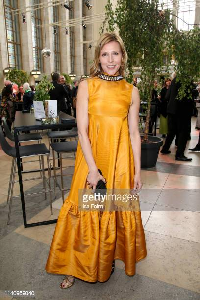 German actress Franziska Weisz attends the Lola - German Film Award reception at Palais am Funkturm on May 3, 2019 in Berlin, Germany.