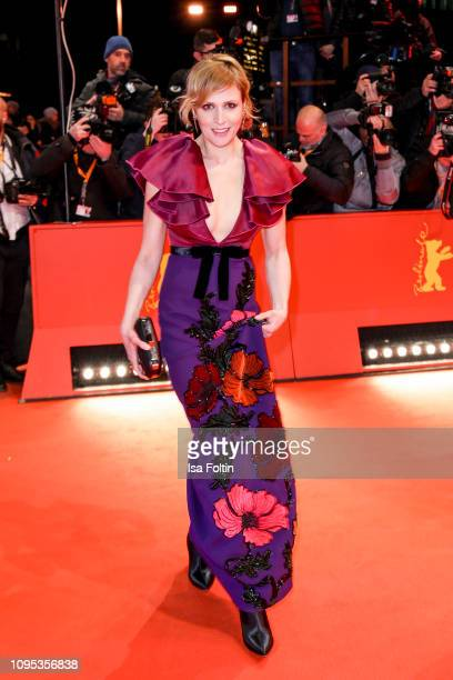 "German actress Franziska Weisz attends the opening ceremony and ""The Kindness Of Strangers"" premiere during the 69th Berlinale International Film..."