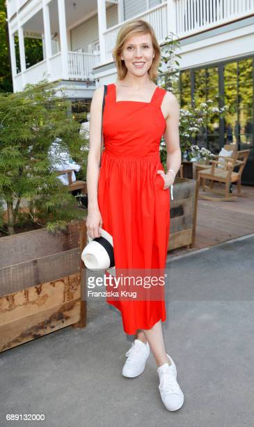 German actress Franziska Weisz during Til Schweiger's opening of his 'Barefoot Hotel' on May 28 2017 in Timmendorfer Strand Germany