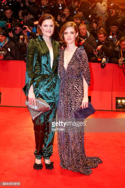German actress Fritzi Haberlandt and german actress Liv Lisa Fries attend the 'Django' premiere during the 67th Berlinale International Film Festival...