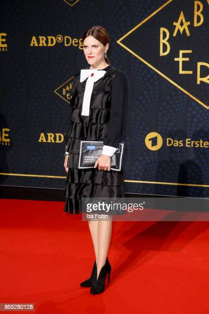 German actress Fritzi Haberlandt attends the 'Babylon Berlin' Premiere at Berlin Ensemble on September 28 2017 in Berlin Germany