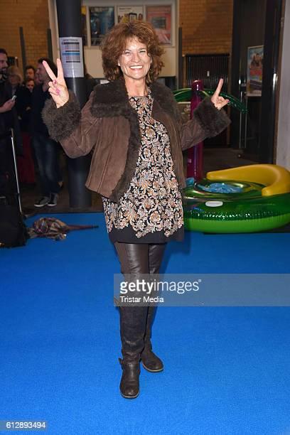 German actress Gabrielle Scharnitzky attends the 'Affenkoenig' Berlin Premiere at Kino in der Kulturbrauerei on October 5 2016 in Berlin Germany