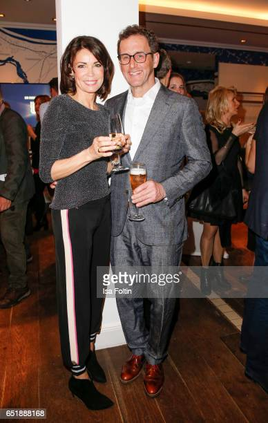 German actress Gerit Kling and her husband Wolfram Becker attend the 'Baltic Lights' charity event on March 10, 2017 in Heringsdorf, Germany. Every...