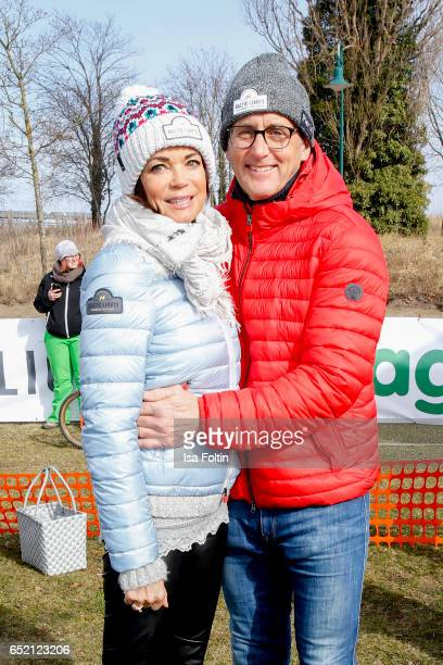 German actress Gerit Kling and her husband Wolfram Becker attend the 'Baltic Lights' charity event on March 11, 2017 in Heringsdorf, Germany. Every...